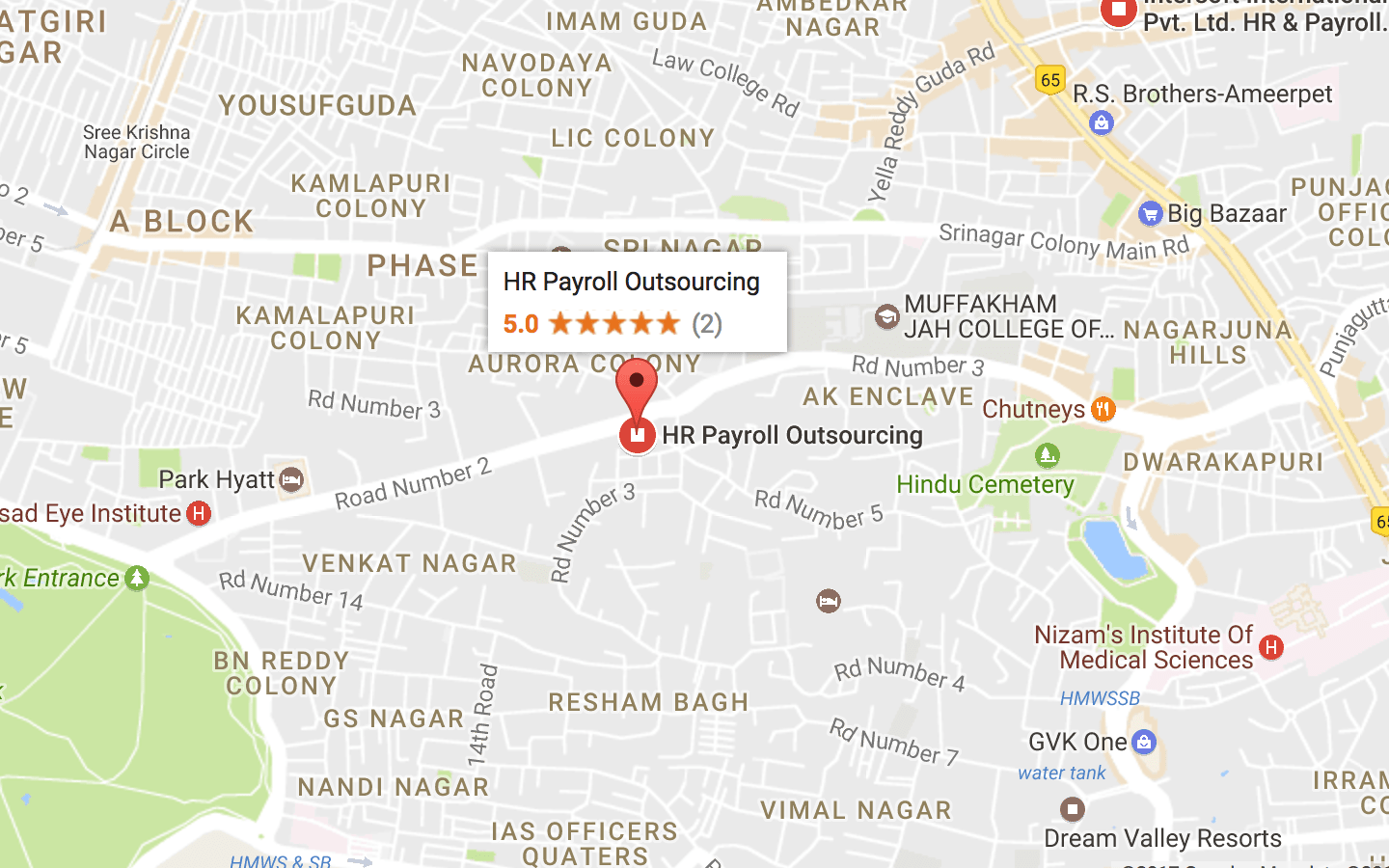 HR Payroll Outsourcing Hyderabad